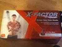X-FACTOR workout machine!!! only used once when i