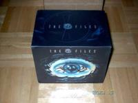 X-Files DVD Box Set, Complete Seasons 1-9 with Extra