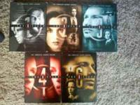 Selling seasons 1 through 4 and 6 of X-files. All 5 of