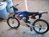 "20"" X-games moto bike, some wear but in good shape"