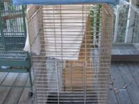 Hi! I have some really nice Cages. 1 Large parrot size,