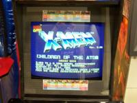X-Men Vs. Street boxer arcade Shows Dark stalkers