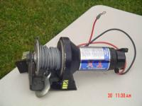 X1, 2000LB, 12 VOLT SUPERWINCH - PRICE - $150 MR.