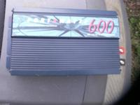 This is a used 600 watt power inverter in good