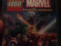 Xbox 1 Lego marvel super heroes asking $30