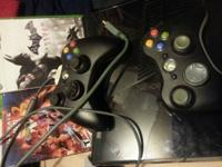 Have an xbox 360 with 2 controllers. 2 headsets, all
