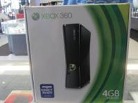 Xbox 360 4gb still in box.  Kindly call show get in