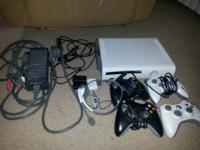 $250 firm for  120GB Xbox 360 4 Controllers