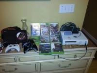 Xbox 360 including 15 games including halo 4  60 gb