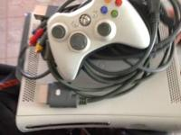 Selling a xbox 360 has all the cords an one remote