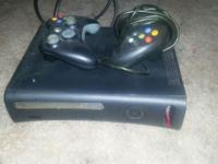 Used xbox 360, works just fine. Just don't use it. Need