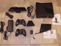 This is a 250 GB Xbox 360. It is in excellent shape and