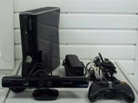 Xbox 360 250 GB W/ KINECT   $195.00   11260 S. Wilcrest