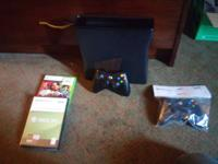 Xbox 360 250g Cod 2 black ops Red dead  Red dead
