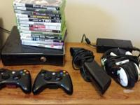Up for sale is my Xbox 360 250gb slim console with