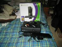 I have a 4 GB slim Xbox 360 with Kinect, a black