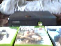 for sale i have an xbox 360 4gb slim works great comes