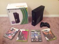 For sale is one Xbox360 Slimline with original box,