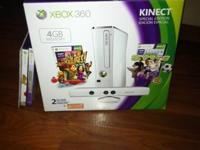 Xbox 360 4GB w/ Kinect, Special Edition, White.  We