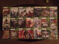 I am selling a 500gb xbox 360 with kinect and 23 games