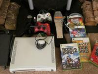 Xbox 360 60GB HDD with two controllers, one camera +