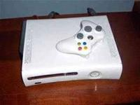 I have an xbox 360 and a wii for sale xbox has 5 games