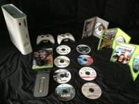 Hey Craigslist I have a white Xbox 360 with a 14 gb