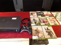 120GB Xbox 360 Console with cables, 1 cordless remote,