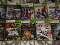 I have a great Xbox 360 with a lot of popular games