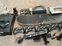 Xbox 360 Bundle (120 GB) (26 games, 4 controllers, 2
