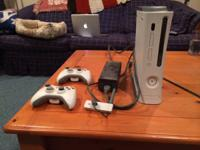 I am offering my Xbox 360 console. Along with it will