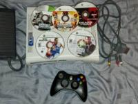 I am offering my Xbox 360 console. It is in excellent