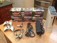 Like New 60 GB console with 2 controllers, wireless