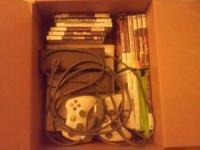 Hello, I'm selling an Xbox 360 console with games +