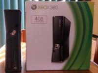 Xbox 360 Consoles, Kinect and wireless controller. Plus