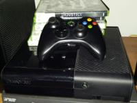Perfect working Xbox 360 comes with about 5 games lime