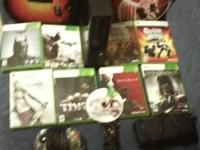 I'm selling an Xbox 360 E slim with 10 games and 3