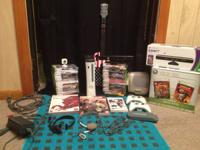 I am selling my 120 GB Xbox 360 Elite along will all of