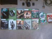 I have a Xbox 360 elite with 250 GB HDD two wireless