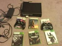 Selling my Xbox 360 Elite got it brand new 2 years ago.