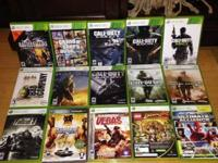 I'm offering all the video games pictured. Games are