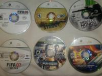 I have Xbox Games for sale: Fifa 08-5$ Guitar Hero 3