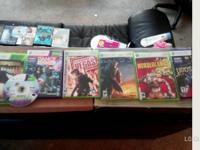 Xbox 360 games for sale. $5 a piece  Halo 3