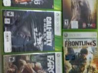 call of duty ghost far cry 3 battelfield3 wwe 2k12