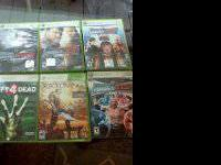 We are selling 18 games for xbox 360,, One adult