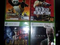I have a few XBOX 360 Games for Sale They are in good
