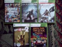 I have a few xbox 360 games that I am selling. Grand