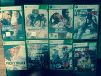 Xbox 360 games. Make offer, willing to split! All in