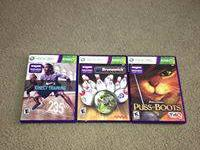 3 Xbox 360 Kinect Only Games: Nike Kinect Training,