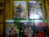 XBOX 360 Game Bundle- $200 for lot or best offer Dark